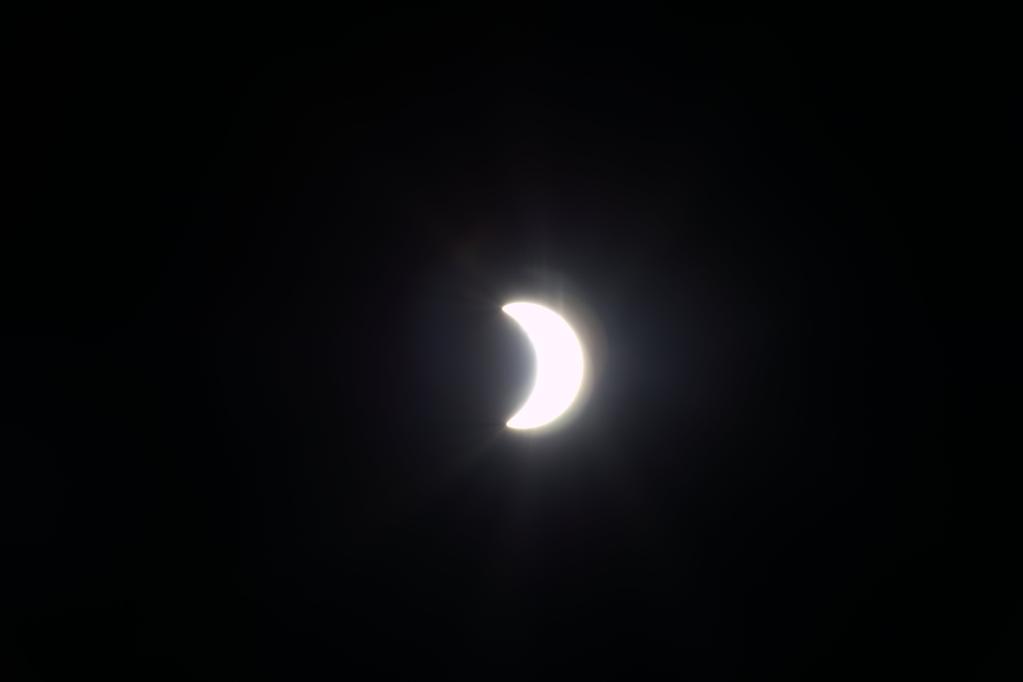Солнечное затмение с воздуха и из космоса - 40