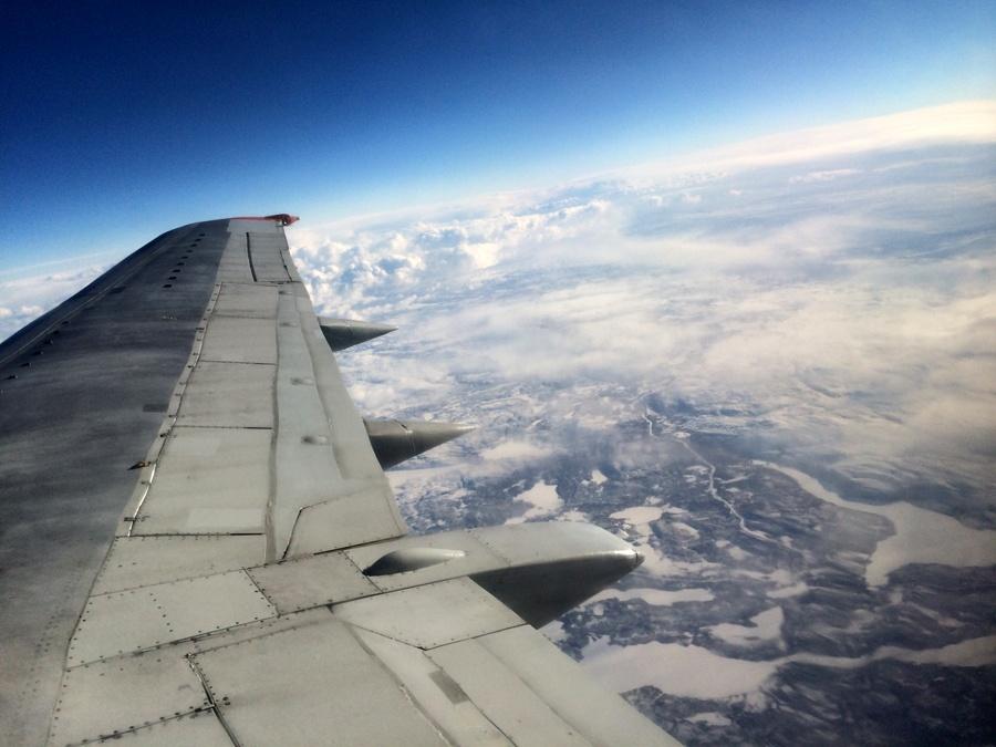 Солнечное затмение с воздуха и из космоса - 5
