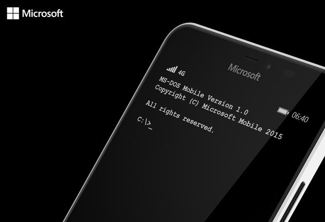 Microsoft запустила новую мобильную ОС — MS-DOS Mobile - 1