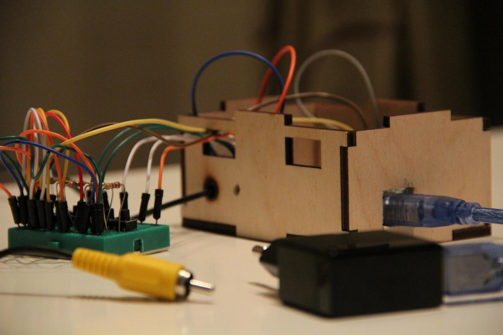Простая игровая тв-приставка на Arduino - 1