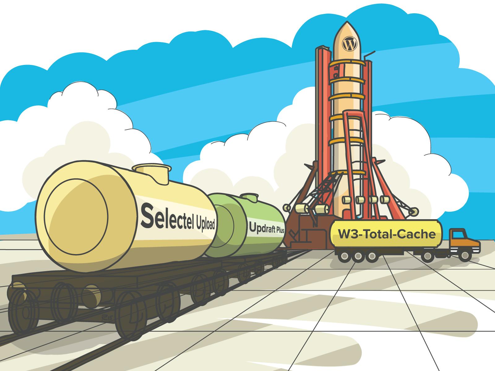 Selectel Storage WordPress Plugins