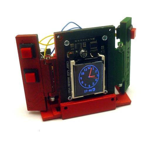 Будильник в технодизайне — настольные часы на основе Arduino - 2
