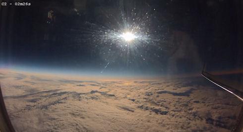 Самое зрелищное видео недавнего солнечного затмения