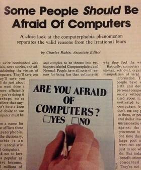 Когда люди боялись компьютеров. Что писали газеты 80-х - 3