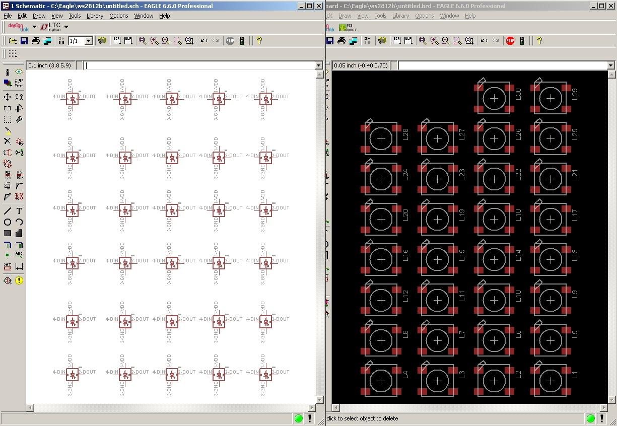 Написание скрипта расстановки элементов по кругу для Eagle CAD - 2