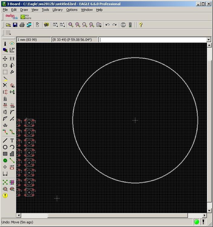 Написание скрипта расстановки элементов по кругу для Eagle CAD - 3