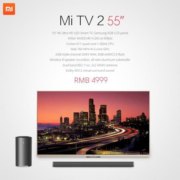 Xiaomi Mi TV 2 4K