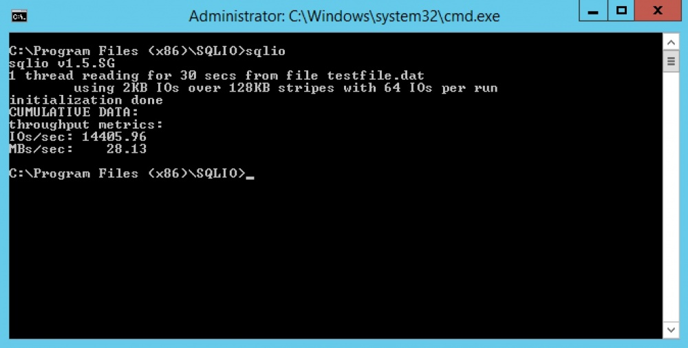 Обновленные Windows VPS от Infobox с тройной репликацией данных и Enterprise SSD–кешированием. Тестируем производительность диска - 6