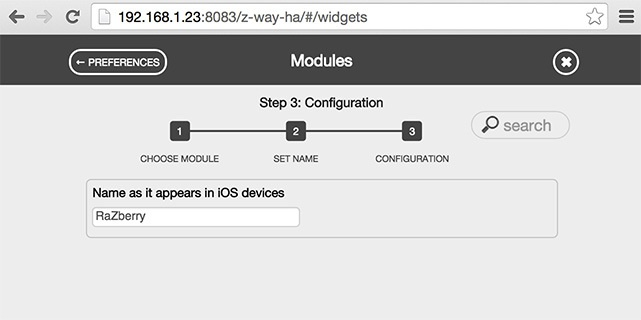 HomeKit для Z-Wave, Raspberry GPIO и устройств с HTTP API с помощью контроллера RaZberry - 14