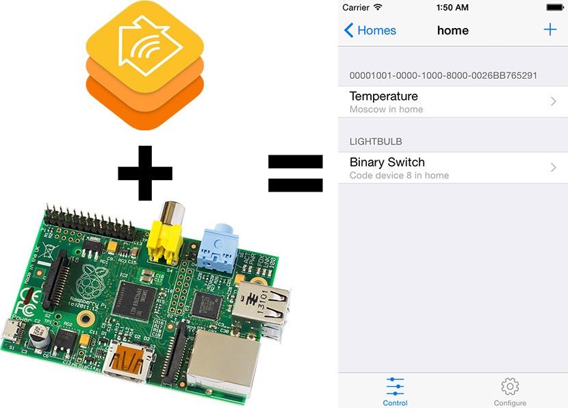 HomeKit для Z-Wave, Raspberry GPIO и устройств с HTTP API с помощью контроллера RaZberry - 1