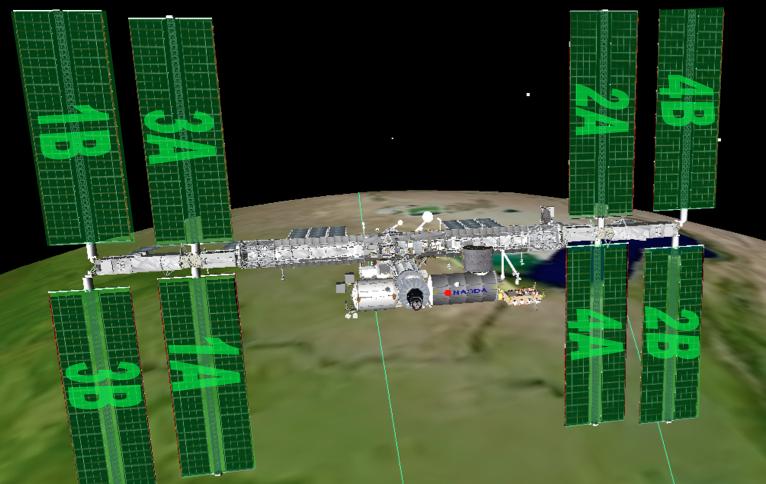 Энергетическая система Международной космической станции - 3