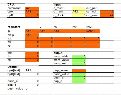 Реактивное программирование в табличном процессоре - 5