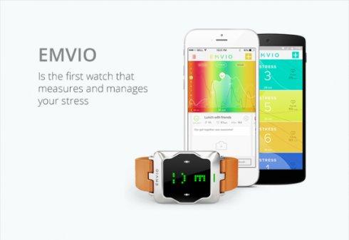«Умные» часы Emvio помогут определить уровень стресса