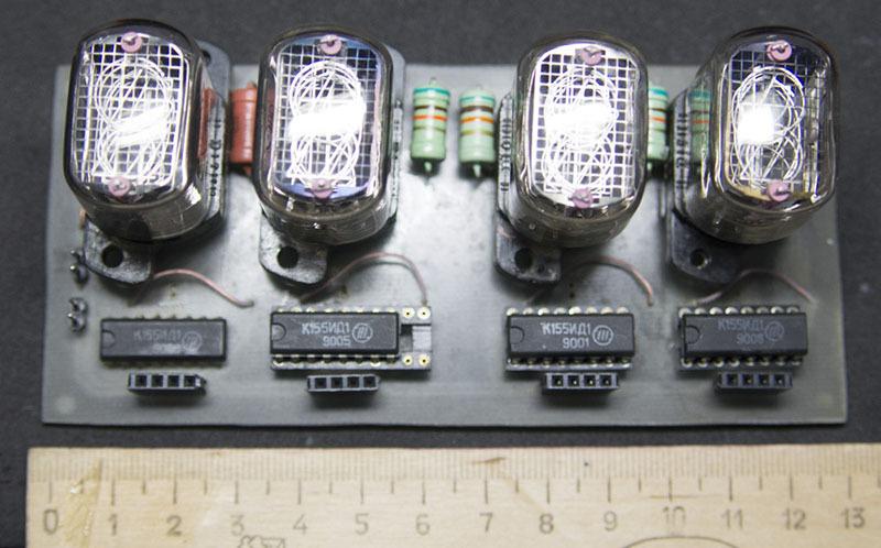 Универсальный Nixie-модуль на ИН-12 - 3