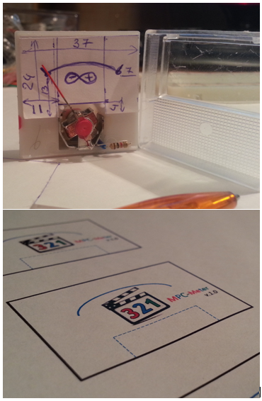 MPCMeter — индикация прогресса просмотра видео. Arduino + JavaScript - 7