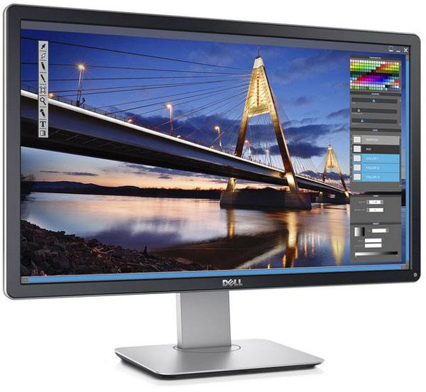 Для подключения к источнику сигнала у Dell P2416D есть по одному входу VGA, DisplayPort 1.2 и HDMI 1.4