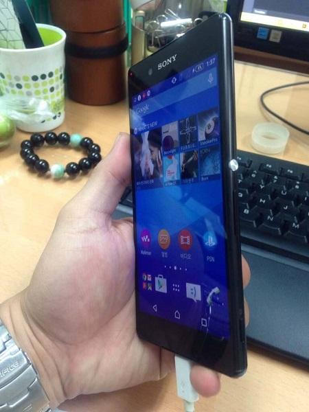 Новые фото смартфона Sony Xperia Z4, который может иметь разновидности с двумя разрешениями экрана - 2