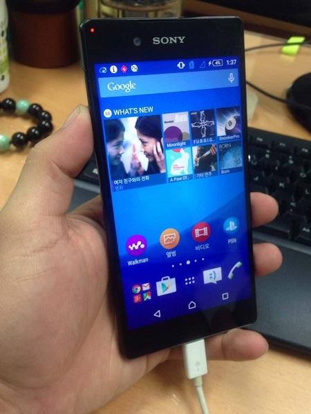 Новые фото смартфона Sony Xperia Z4, который может иметь разновидности с двумя разрешениями экрана - 1