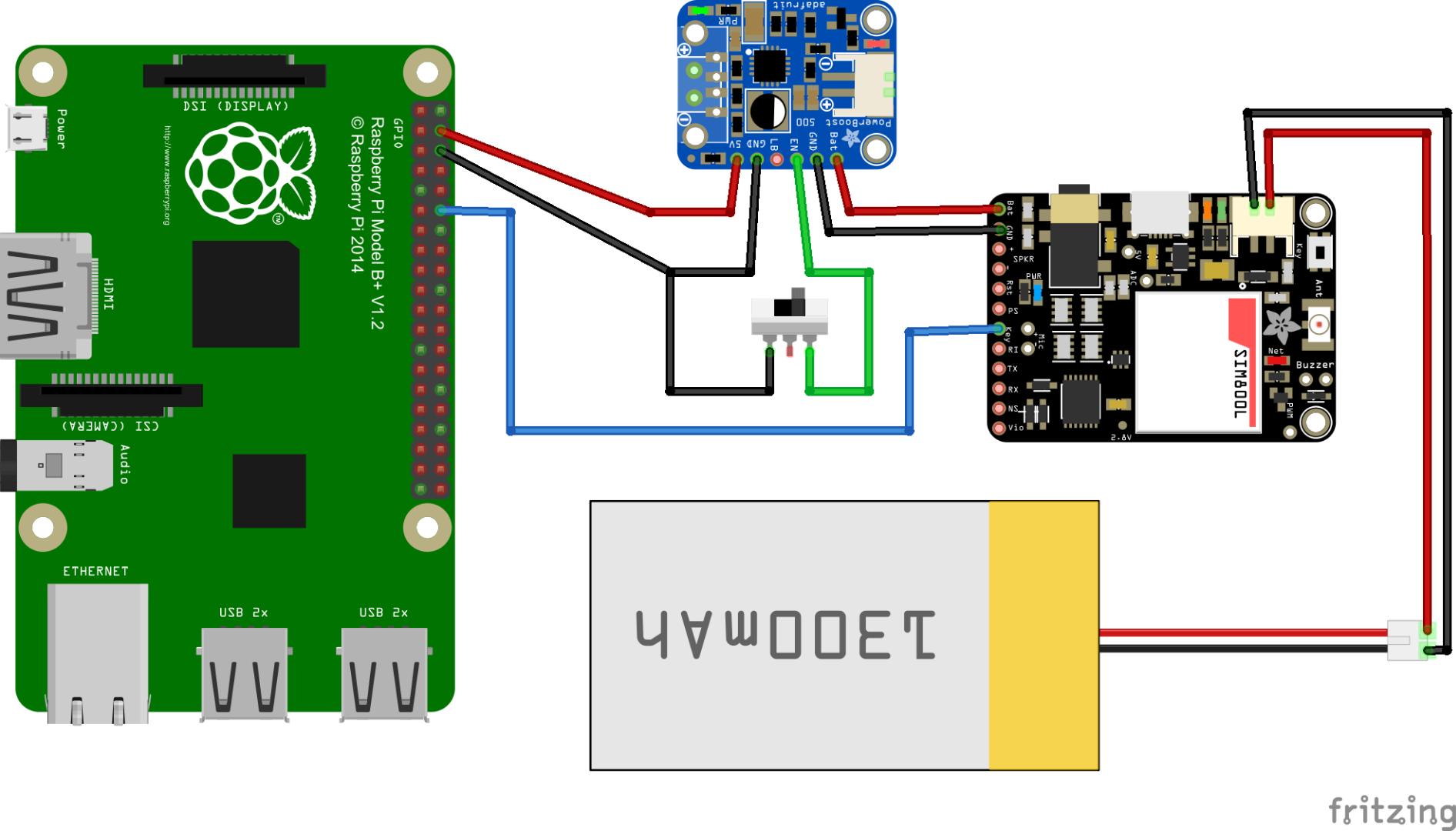 Телефон на Raspberry Pi из 3D-принтера - 2