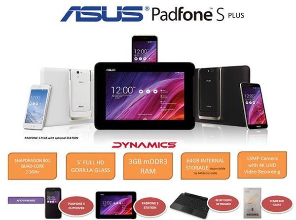 Продажи Asus PadFone S Plus в Малайзии  стартуют 8 апреля