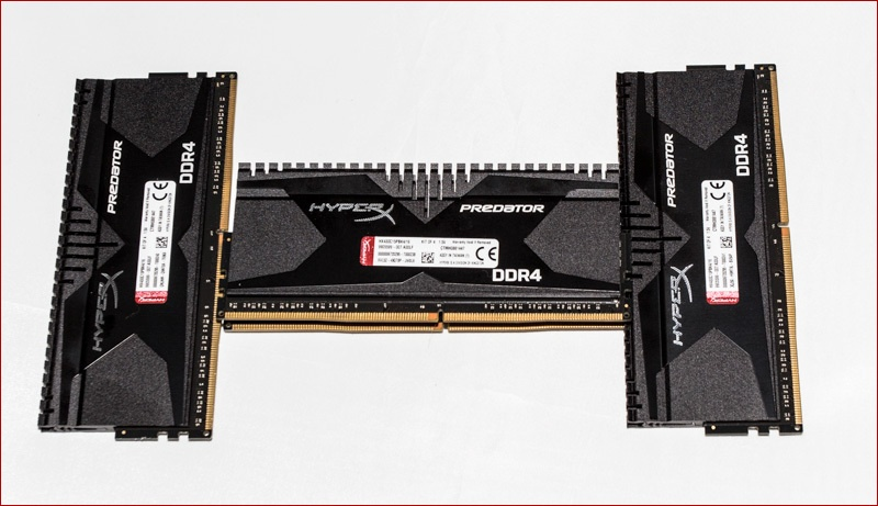 DDR3 vs. DDR4. HyperX Savage vs HyperX Predator - 10