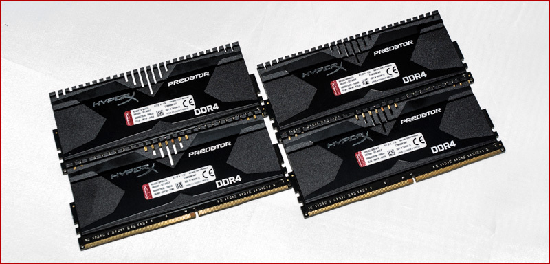 DDR3 vs. DDR4. HyperX Savage vs HyperX Predator - 9