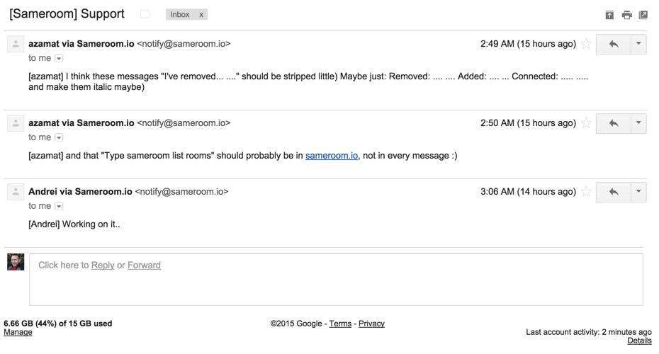 Как интегрировать email и мессенджер для командной работы - 3