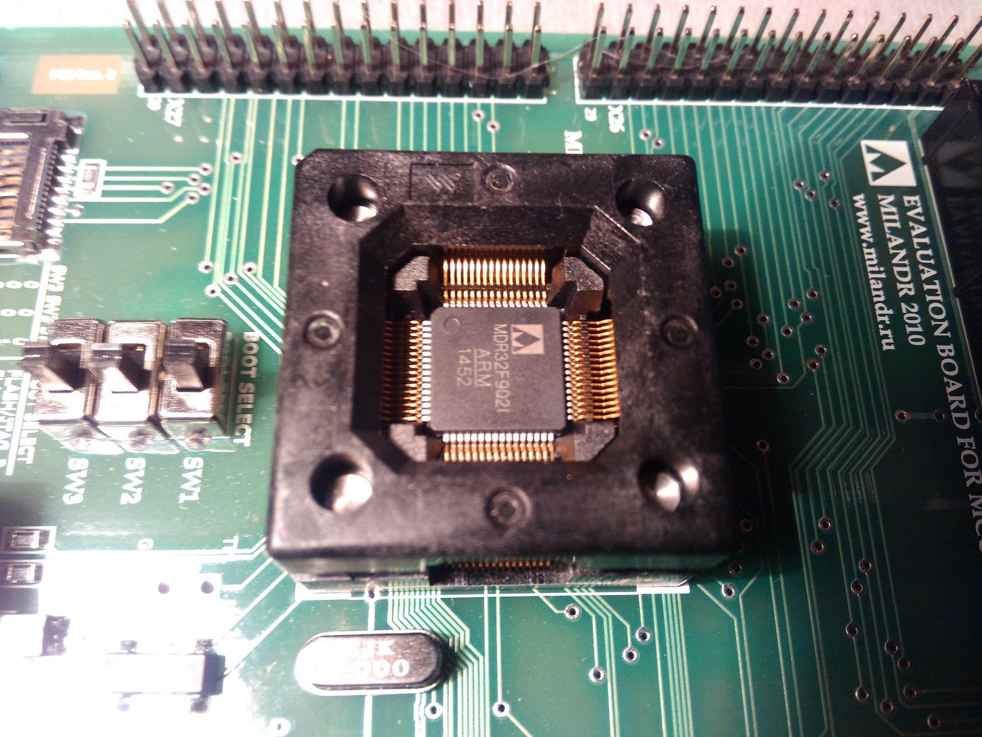 Переходим с STM32F103 на К1986ВЕ92QI. Или первое знакомство с российским микроконтроллером - 12