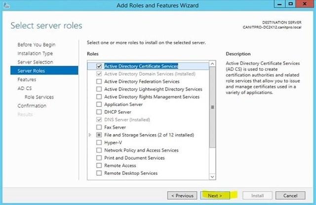 Шаг за шагом: Миграция Active Directory Certificate Service с Windows Server 2003 на Windows Server 2012 R2 - 16