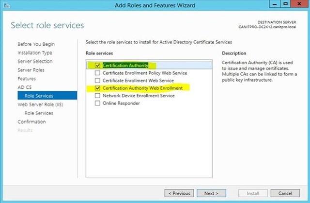 Шаг за шагом: Миграция Active Directory Certificate Service с Windows Server 2003 на Windows Server 2012 R2 - 17