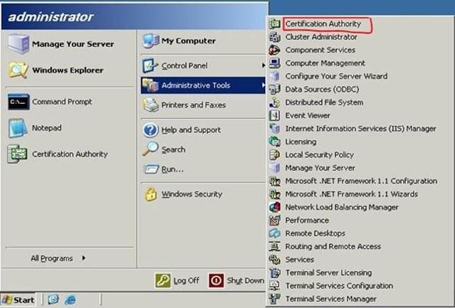 Шаг за шагом: Миграция Active Directory Certificate Service с Windows Server 2003 на Windows Server 2012 R2 - 2