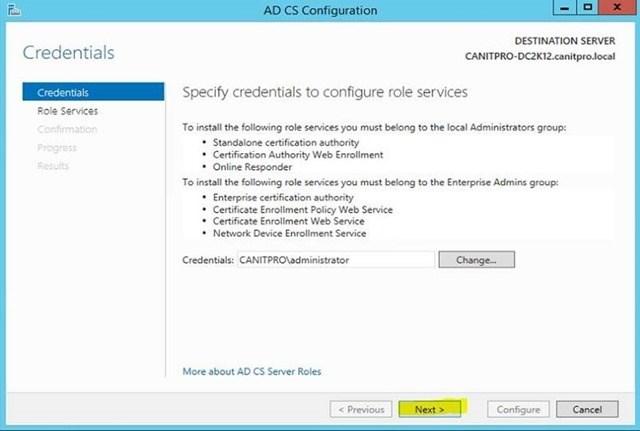 Шаг за шагом: Миграция Active Directory Certificate Service с Windows Server 2003 на Windows Server 2012 R2 - 22