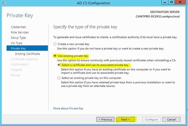 Шаг за шагом: Миграция Active Directory Certificate Service с Windows Server 2003 на Windows Server 2012 R2 - 26