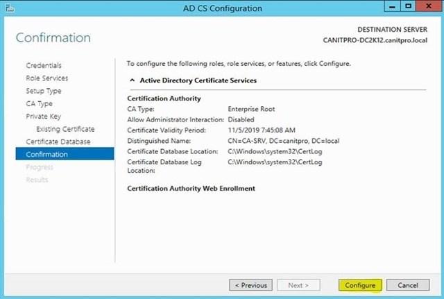 Шаг за шагом: Миграция Active Directory Certificate Service с Windows Server 2003 на Windows Server 2012 R2 - 31