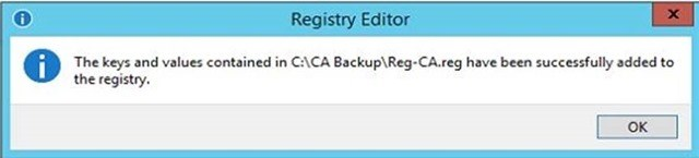 Шаг за шагом: Миграция Active Directory Certificate Service с Windows Server 2003 на Windows Server 2012 R2 - 38