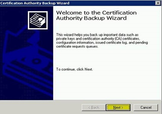 Шаг за шагом: Миграция Active Directory Certificate Service с Windows Server 2003 на Windows Server 2012 R2 - 4