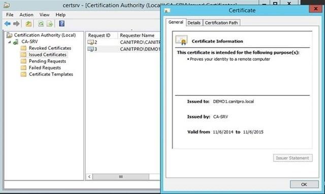Шаг за шагом: Миграция Active Directory Certificate Service с Windows Server 2003 на Windows Server 2012 R2 - 41