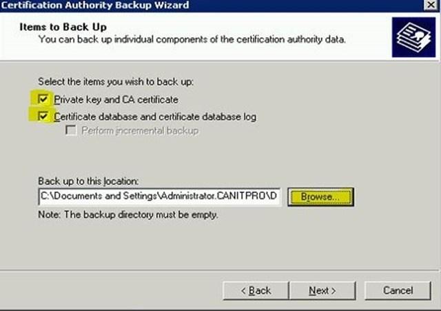 Шаг за шагом: Миграция Active Directory Certificate Service с Windows Server 2003 на Windows Server 2012 R2 - 5