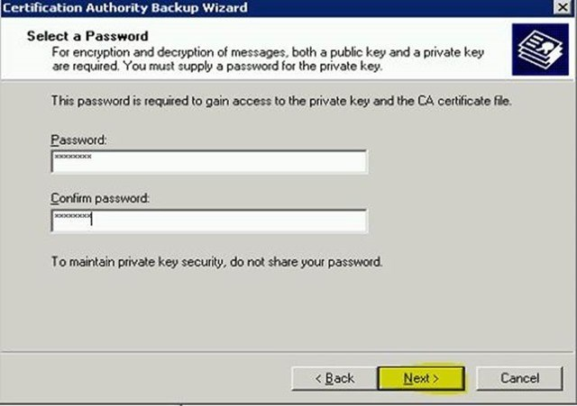 Шаг за шагом: Миграция Active Directory Certificate Service с Windows Server 2003 на Windows Server 2012 R2 - 6