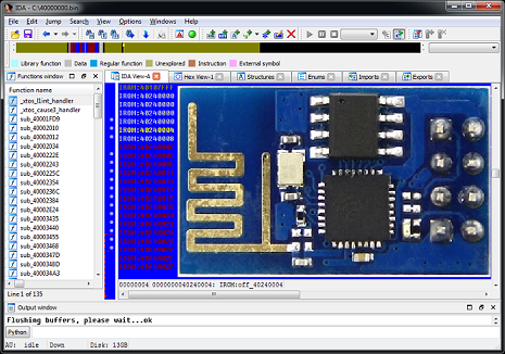 Reverse Engineering ESP8266 — часть 2 - 1