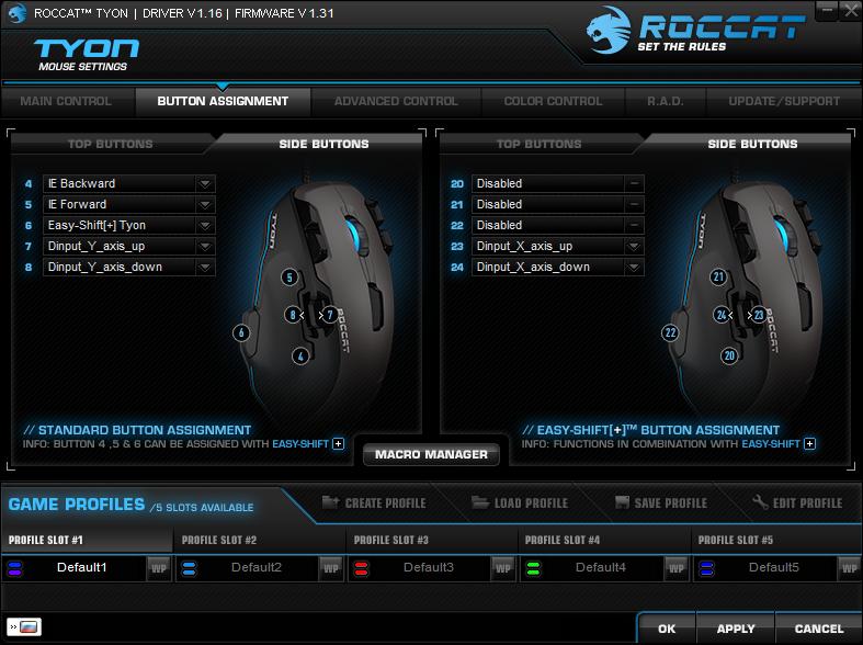 Roccat Tyon Black: гибрид мышки и геймпада - 16