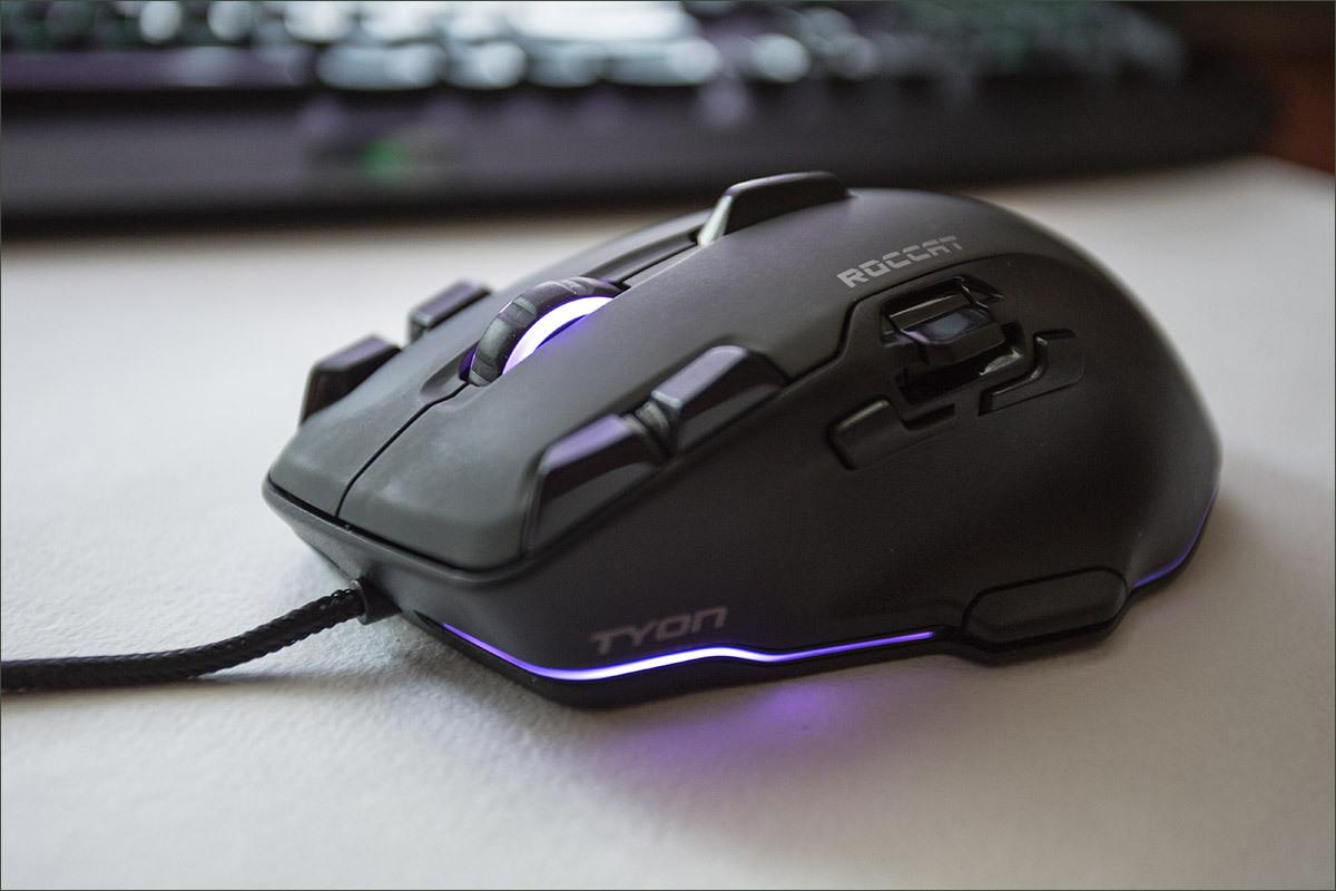 Roccat Tyon Black: гибрид мышки и геймпада - 6