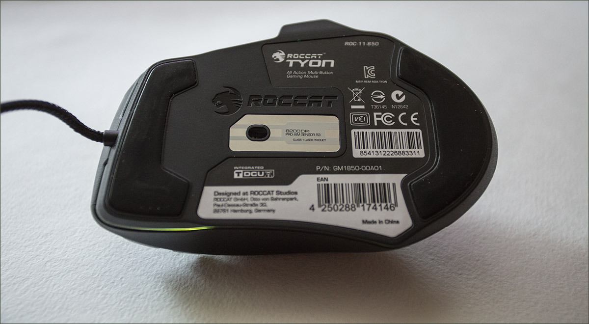 Roccat Tyon Black: гибрид мышки и геймпада - 8