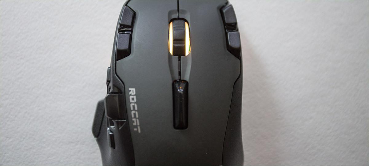Roccat Tyon Black: гибрид мышки и геймпада - 9