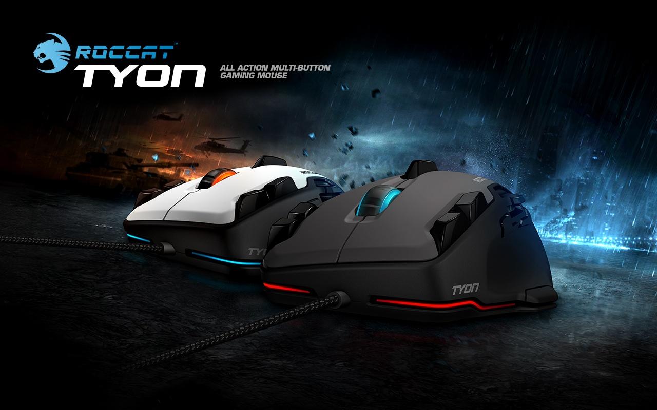 Roccat Tyon Black: гибрид мышки и геймпада - 1