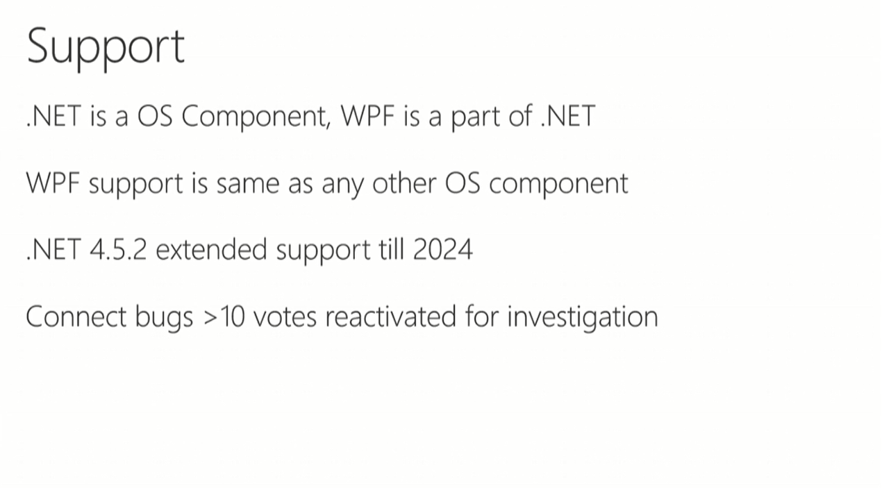 WPF 4.6 и дальнейшие планы - 3