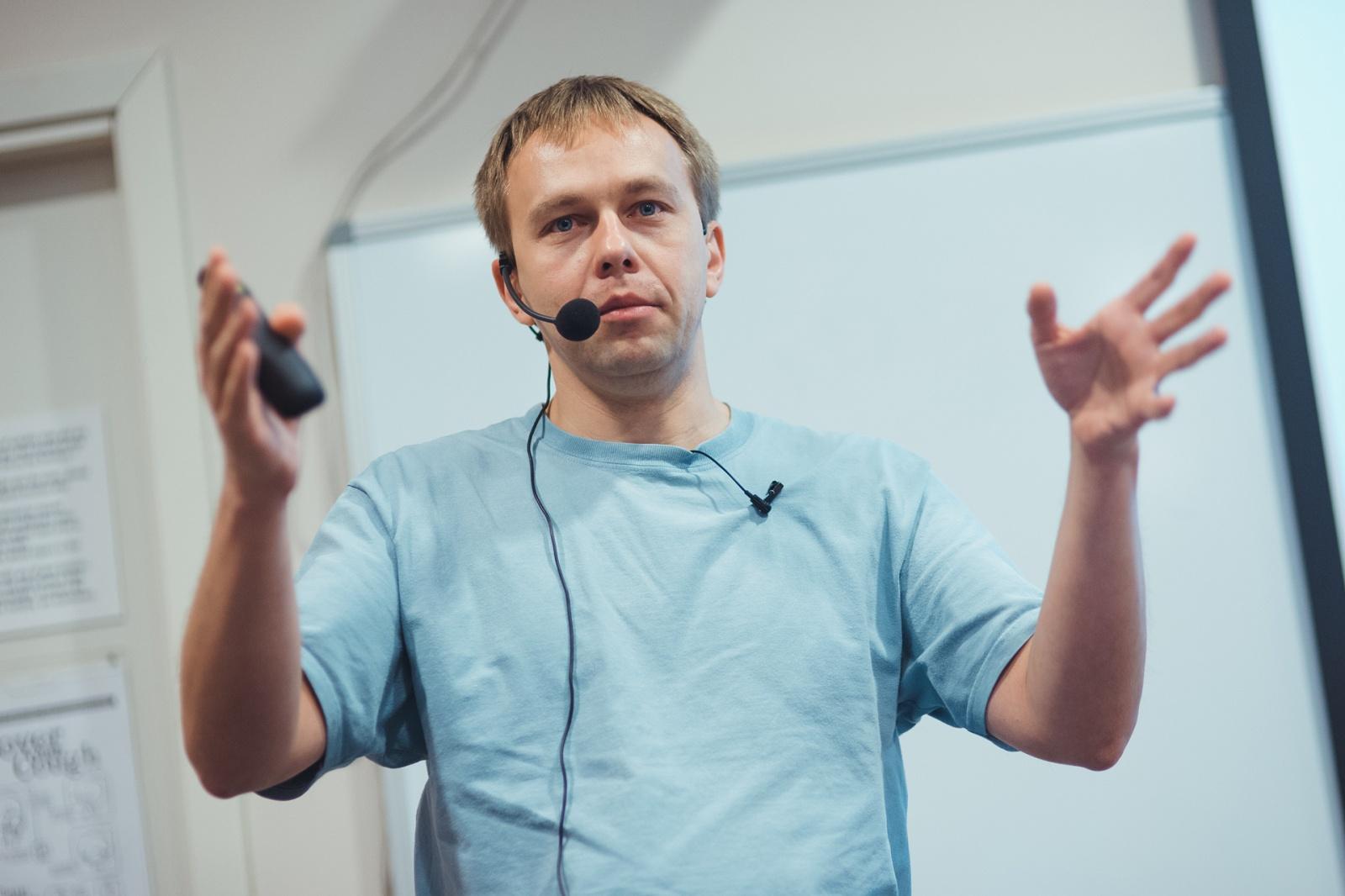 Без слайдов: Сергей Куксенко - 2