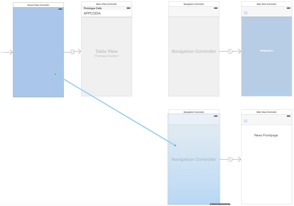Добавляем панель бокового меню в свое iOS-приложение - 7
