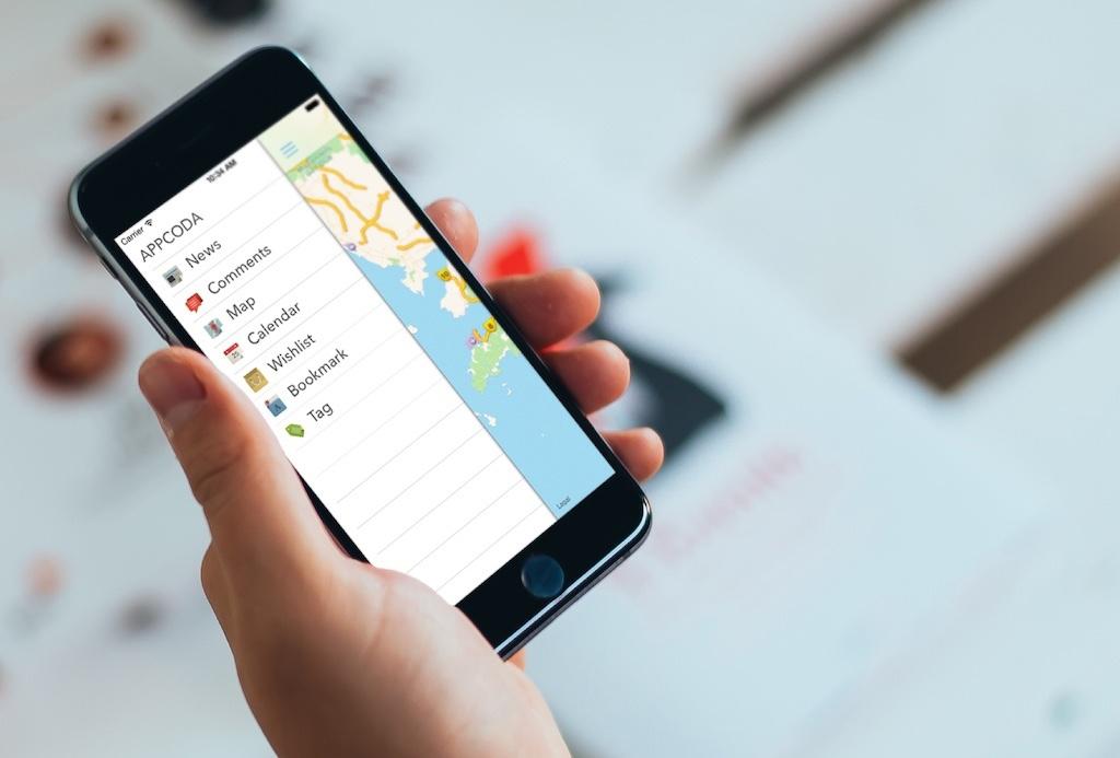 Добавляем панель бокового меню в свое iOS-приложение - 1