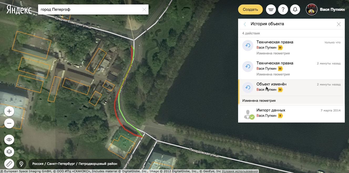 Новые Яндекс.Карты, которые каждый теперь может поправить сам - 23